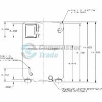 Холодильный компрессор герметичный поршневой Bristol H79A 423 DBVA